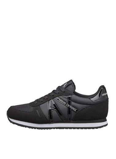 Armani Exchange Armani Exchange Kadın Düz Topuk Siyah Sneaker Siyah